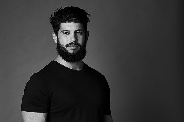 Portrait, Strong, Power, Black and White, Studio, Photographer, Photography