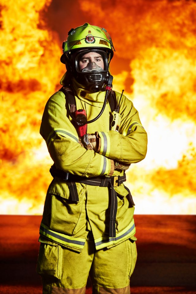 Advertising, Portrait, Fire Fighters, Government, Photographer, Photography