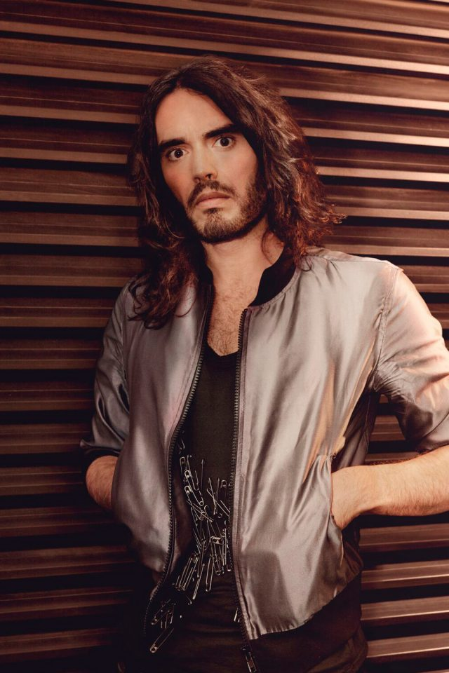 Portrait of Russell Brand - by Canberra photographers