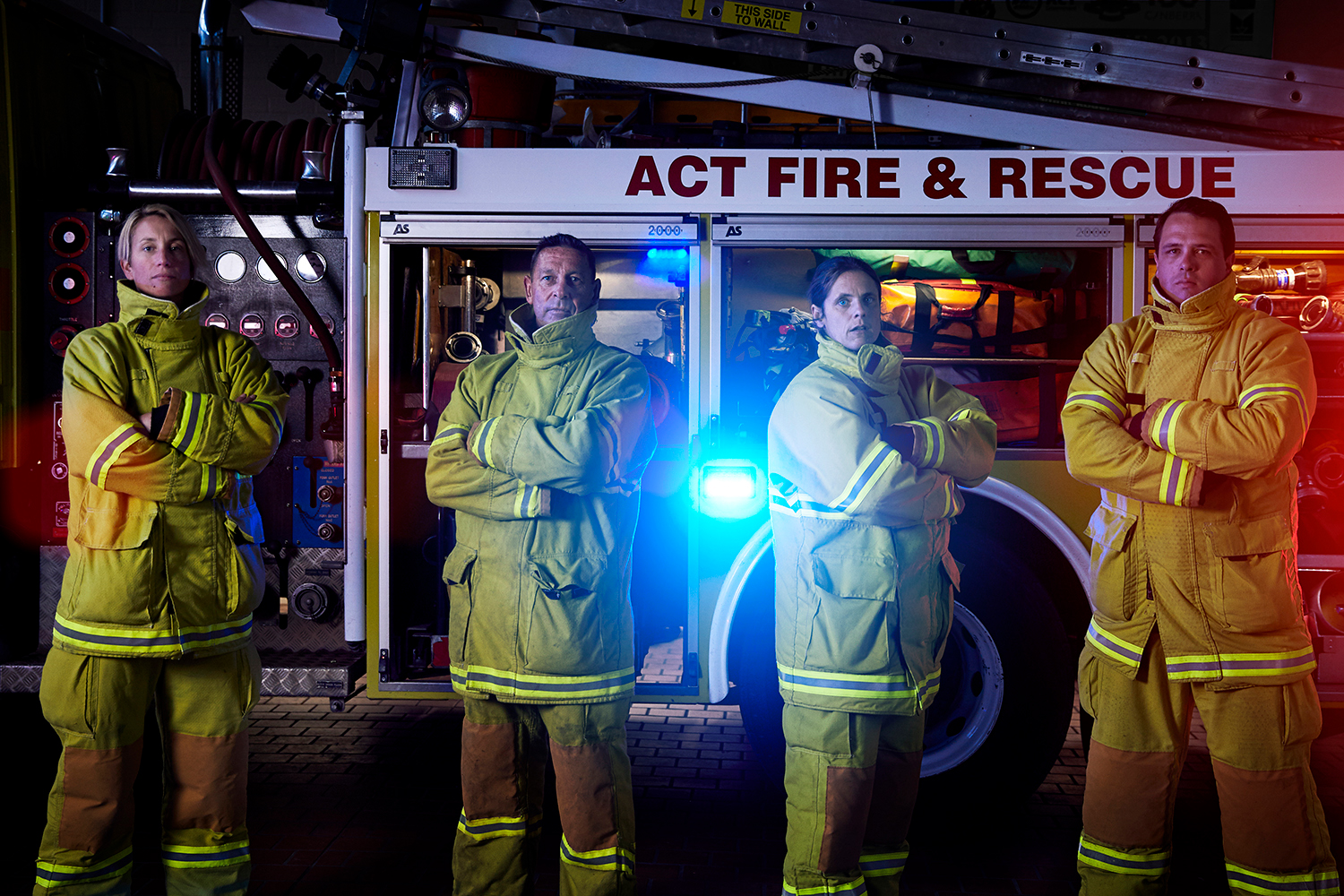 ACT Fire and Rescue brand photography, corporate photography, portrait photography by canberra photographer