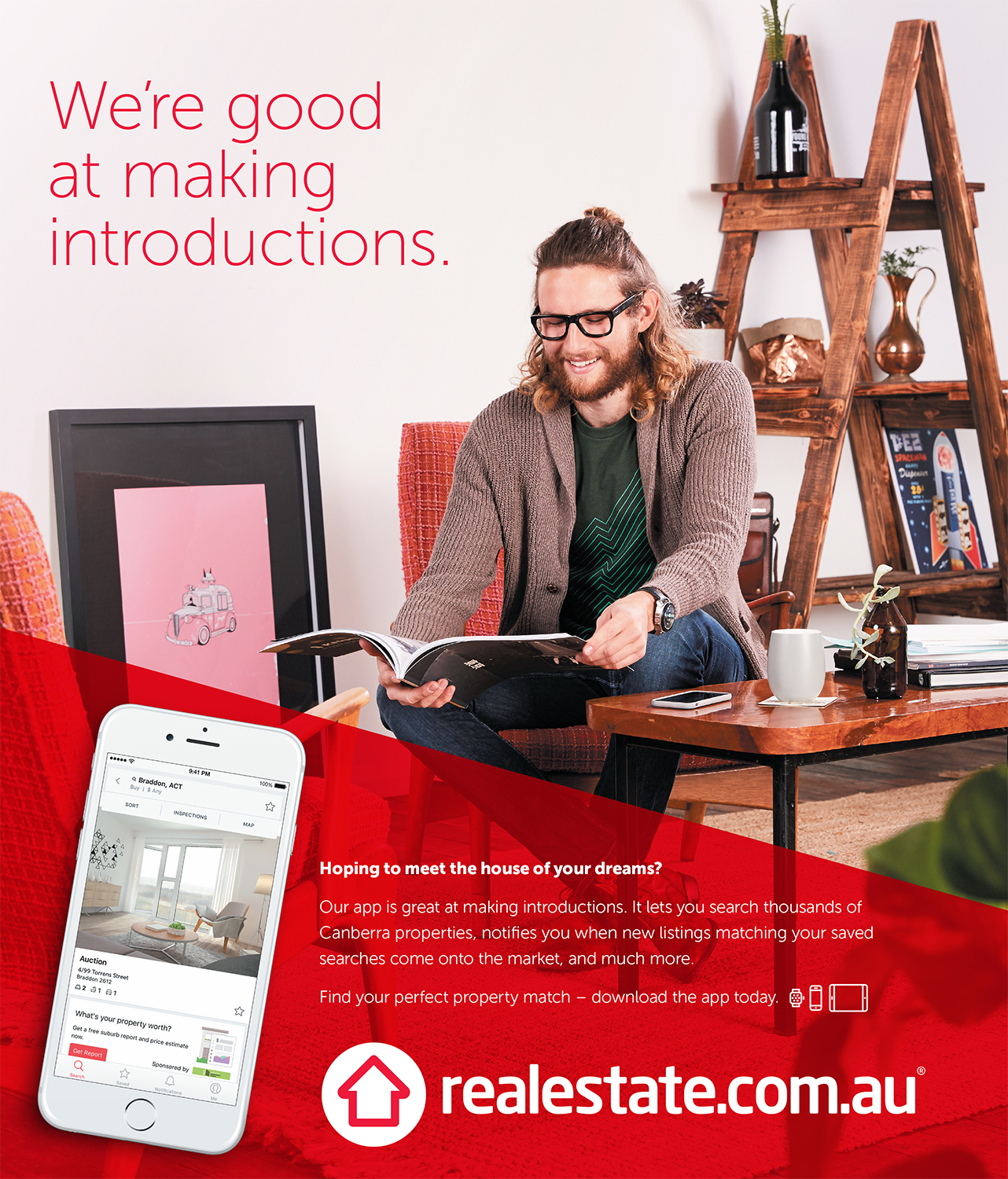 REA - home and lifestyle photography for advertising and marketing campaign by canberra photographer