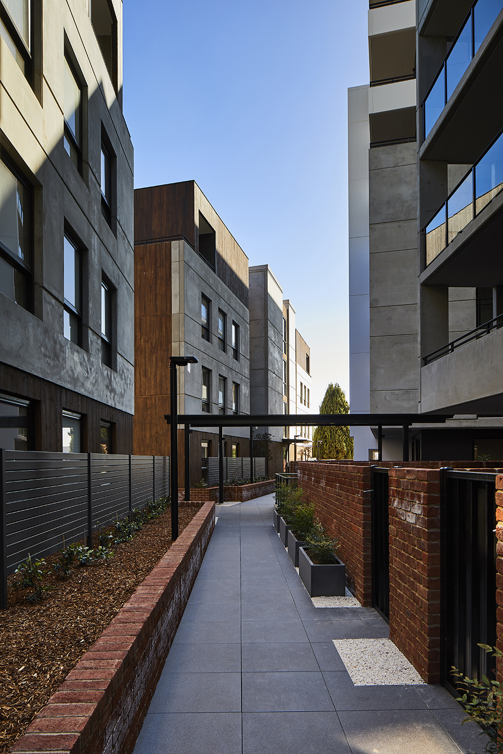 exterior photography of new development in canberra by Canberra photographer