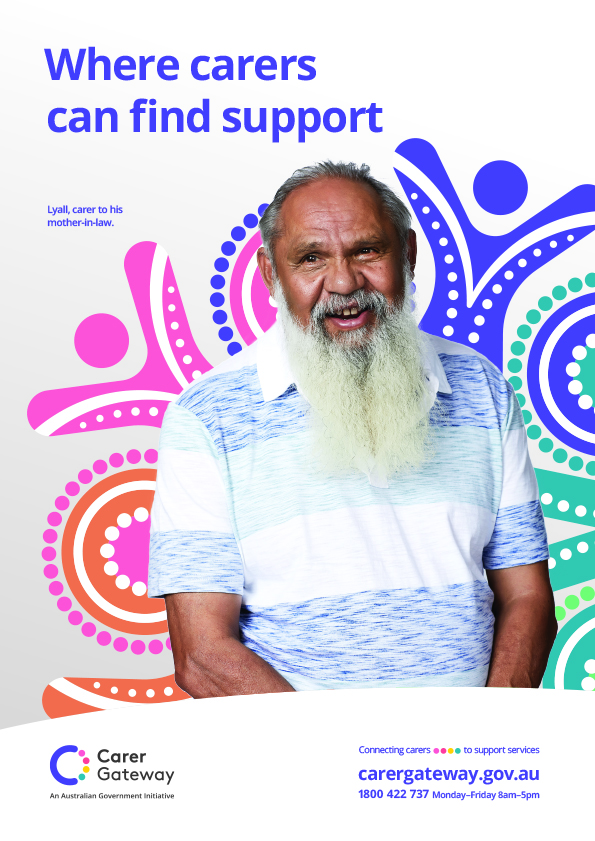 Carer Gateway - Department of Social Services - portraits and lifestyle photography for communication campaign by canberra photographer