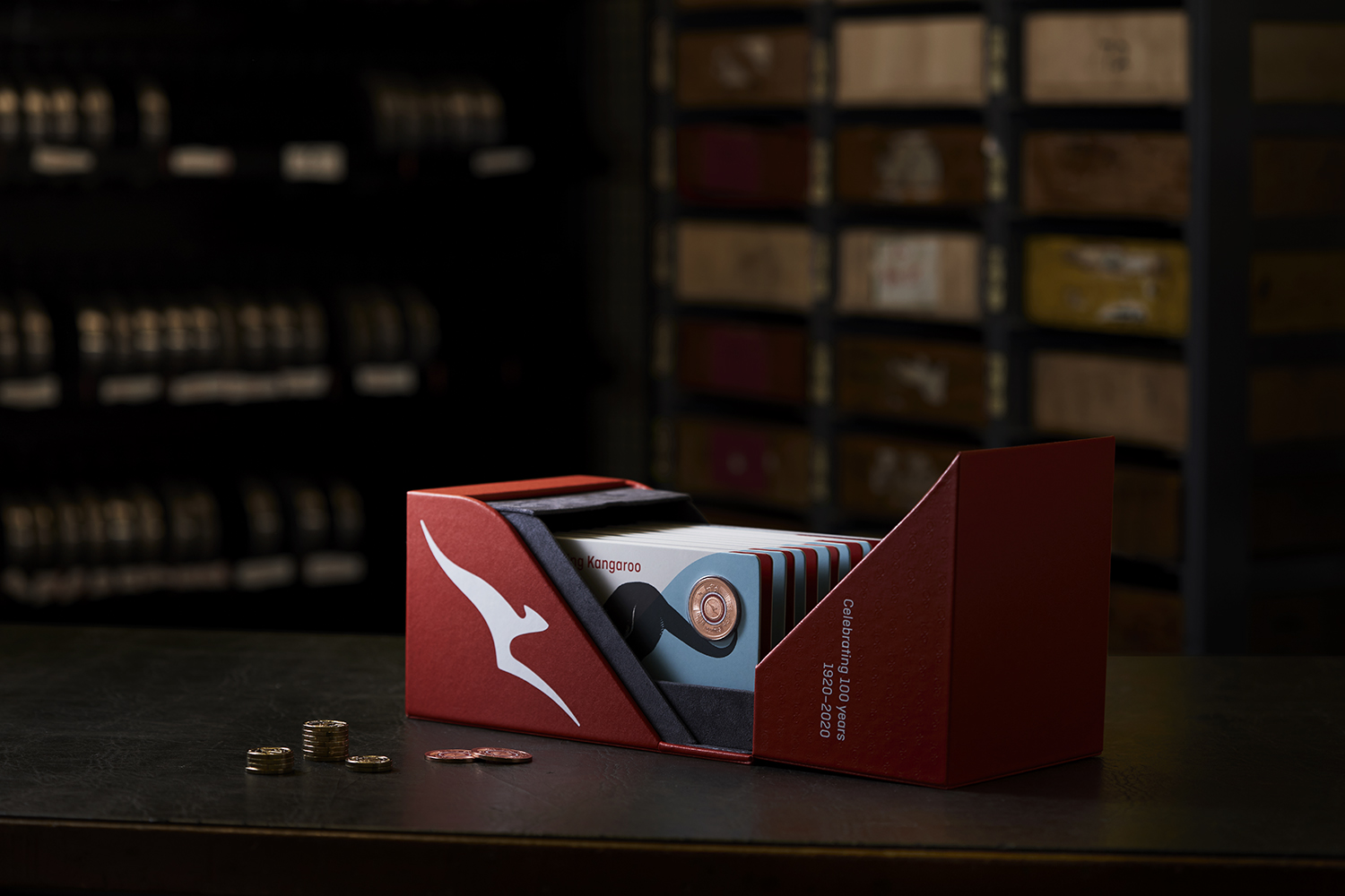Royal Australian Mint advertising and product photography, by canberra photographer